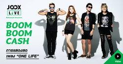 "Boom Boom Cash กับเพลง ""One Life"" ใน JOOX Live: Rehearsal Sessions"