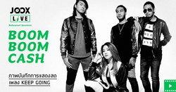 "Boom Boom Cash กับเพลง ""Keep Going"" ใน JOOX Live: Rehearsal Sessions"
