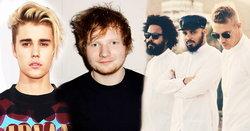 "Justin Bieber, Ed Sheeran ตอบรับ Major Lazer ทำเพลงใหม่ ""Cold Water"""