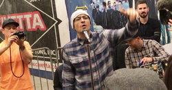 Linkin Park เซอร์ไพรส์! เล่นสดกลางสถานีรถไฟใต้ดินนิวยอร์ค