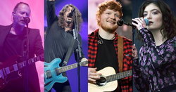 Ed Sheeran, Lorde, Radiohead, Foo Fighters นำทีมจัดหนัก Glastonbury 2017
