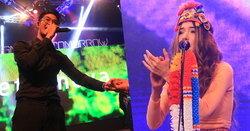 """ปาล์มมี่ - Getsunova โชว์มินิคอนเสิร์ต """"สะกดดีไซน์เนอร์นานาชาติ"""""""