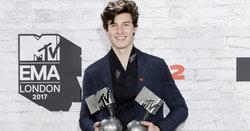 Shawn Mendes คว้าคนเดียว 4 รางวัล จากเวที MTV EMAs 2017