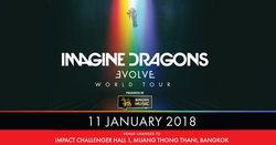 ด่วน! คอนเสิร์ต Imagine Dragons เปลี่ยนสถานที่จัดเป็น Impact Challenger Hall 1