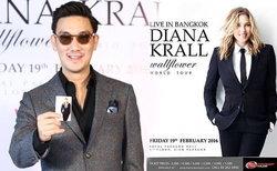 บุรินทร์ Groove Riders ยอมรับเป็นแฟนตัวยง Diana Krall ศิลปินแจ๊สตัวแม่