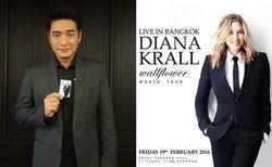 ก้อง-สหรัถ นำทีมดาราไทย ชวนแฟนแจ๊สชม Diana Krall Live in Bangkok 2016