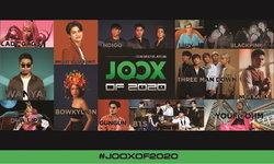 JOOX OF 2020 เปิดรายชื่อสุดยอดศิลปินที่มียอดฟังสูงสุดในปีนี้