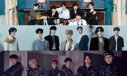 BTS, GOT7, EXO ติดอันดับศิลปิน K-POP ที่คนทวีตถึงมากที่สุดในไทยปี 2020