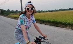 """""""ปาล์มมี่"""" ตอบฮา หลังลงรูปขี่จักรยานแล้วเจอแฟนเพลงคอมเมนต์ขอซ้อนท้าย"""