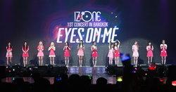 IZ*ONE แทคทีมอ้อนแฟนไทย พร้อมโปรยความสดใสสะกดทุกสายตา