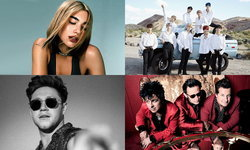 Dua Lipa, NCT 127, Niall Horan, Green Day ร่วมเวที 2019 MTV EMAs