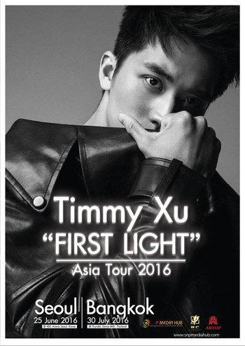 "Timmy Xu ""First Light"" Asia Tour 2016 in Bangkok"