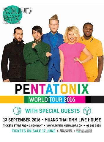 Sound Box: Pentatonix The World Tour 2016