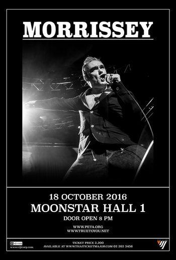 Morrissey Live in Bangkok 2016