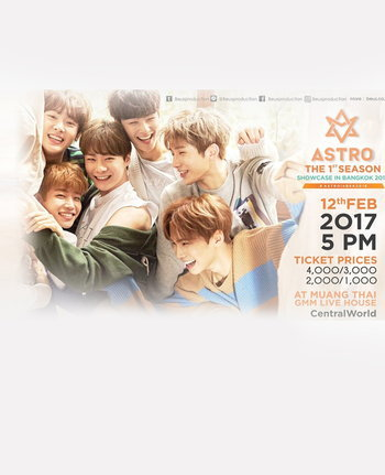 ASTRO THE 1st SEASON SHOWCASE in BANGKOK 2016
