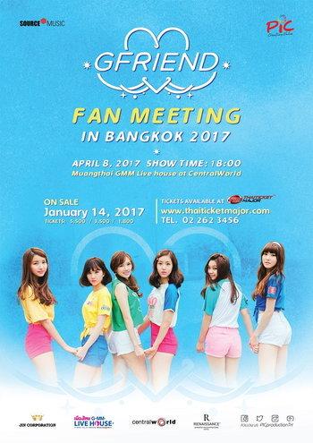 GFRIEND Fan Meeting in Bangkok 2017