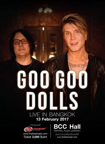 Goo Goo Dolls Live in Bangkok 2017