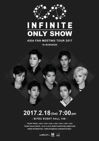 INFINITE ONLY SHOW ASIA FAN MEETING TOUR 2017 IN BANGKOK