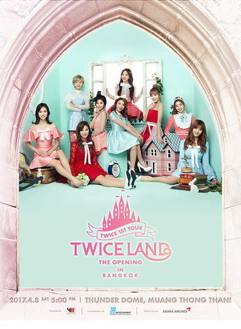 TWICE 1st TOUR 'TWICELAND' -THE OPENING - IN BANGKOK