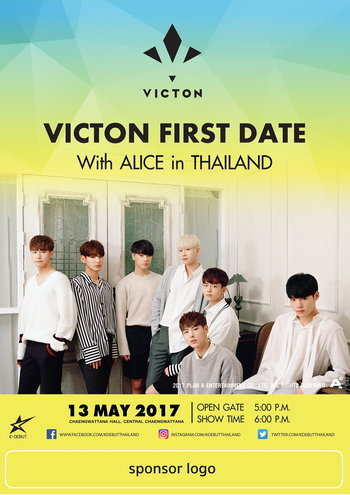 VICTON FIRST DATE WITH ALICE IN THAILAND