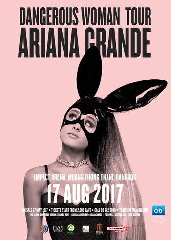 Ariana Grande Dangerous Woman Tour Live in Bangkok 2017