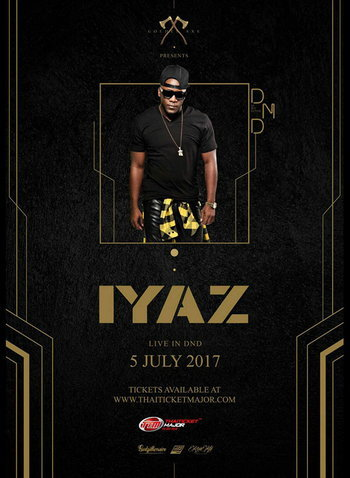 Golden Axe presents Iyaz Exclusive Party Live in Bangkok