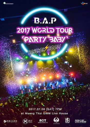 B.A.P  2017 WORLD TOUR PARTY BABY : BANGKOK BOOM