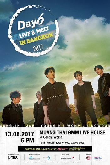 DAY6 LIVE & MEET IN BANGKOK 2017