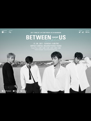 2017 CNBLUE LIVE [BETWEEN US] IN BANGKOK