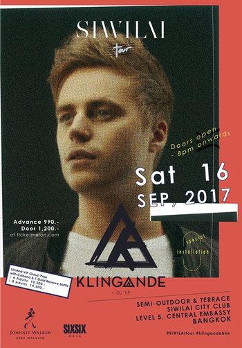 SIWILAI Tour presents KLINGANDE