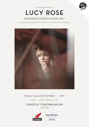 Lucy Rose Bangkok Cinema Show 2017