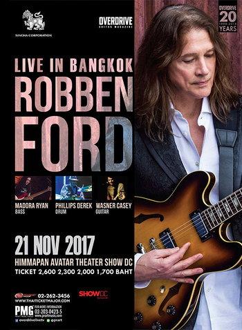 ROBBEN FORD LIVE IN BANGKOK