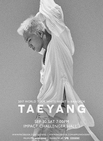 TAEYANG 2017 WORLD TOUR 「WHITE NIGHT」 in Bangkok