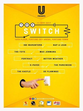 U Beer presents The Switch Concert
