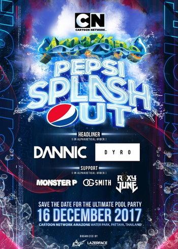 Cartoon Network Amazone Presents Pepsi Splash Out 201