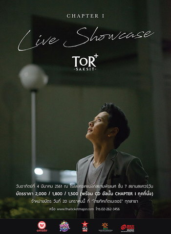 TOR+ Saksit CHAPTER I Live Showcase