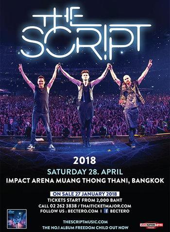 The Script Live in Bangkok 2018