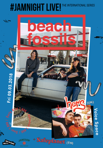 #JAMNIGHT Live! with Beach Fossils + Her's