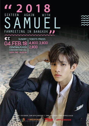 2018 SIXTEEN AGAIN WITH SAMUEL FANMEETING IN BANGKOK