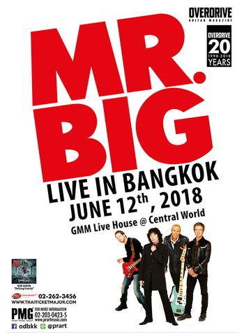 Mr. Big Live in Bangkok