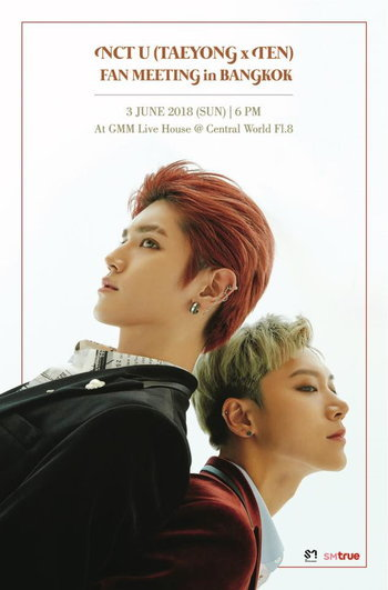 NCT U (TAEYONG x TEN) FAN MEETING in BANGKOK