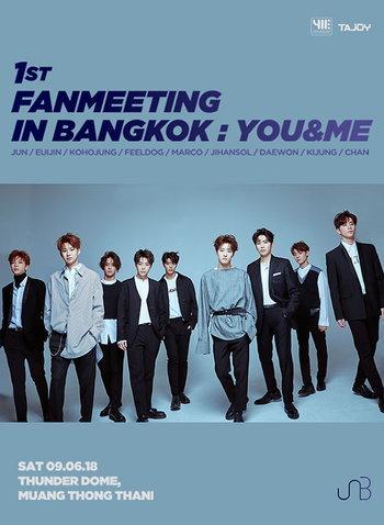 UNB 1st FANMEETING IN BANGKOK : YOU&ME