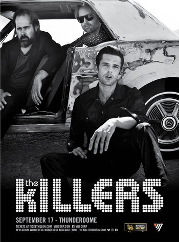 The Killers Live in Bangkok Presented by Singha Music