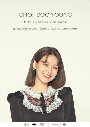 Choi Soo Young 1st Fan Meeting in Bangkok