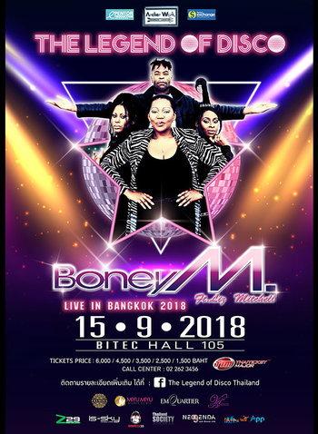 Boney M. Live in Bangkok 2018