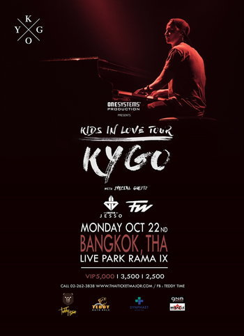 KYGO KIDS IN LOVE TOUR
