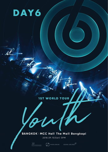 DAY6 1ST WORLD TOUR 'YOUTH' IN BANGKOK
