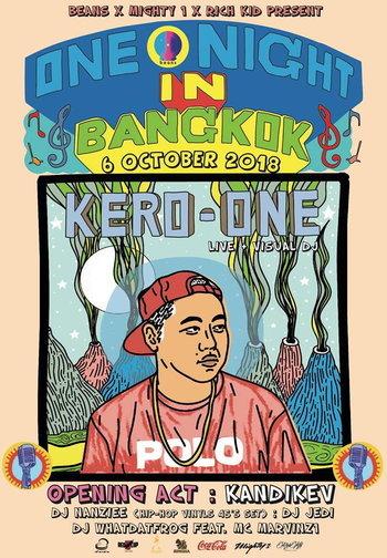 Kero One : One Night in Bangkok
