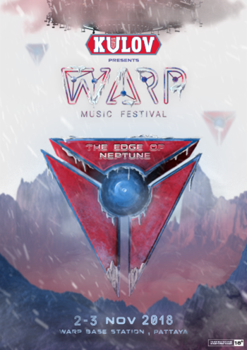 WARP Music Festival 2018 : The Edge of Neptune