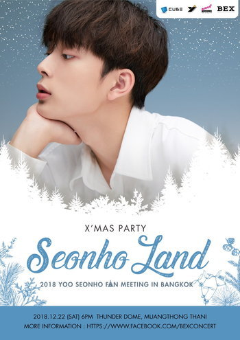 2018 YOO SEONHO FAN MEETING IN BANGKOK 'X'Mas Party in Seonho Land'